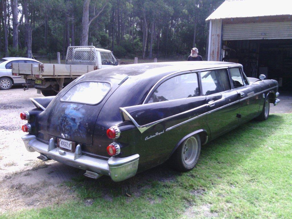 viewing  thread  dodge hearse