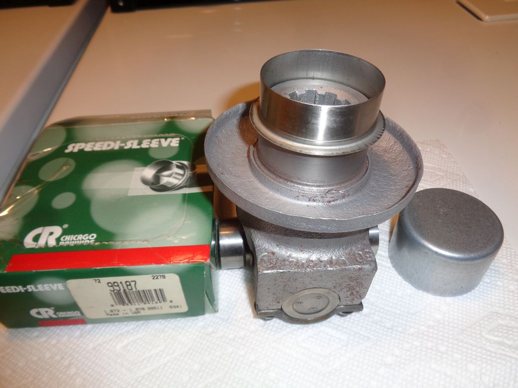 Viewing a thread - Potential of swapping a 1956 Pinion Drive Flange