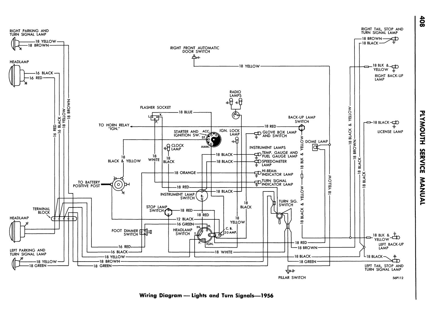 viewing a thread - 55-56 dodge and plymouth wiring ... 56 chevrolet wiring diagram