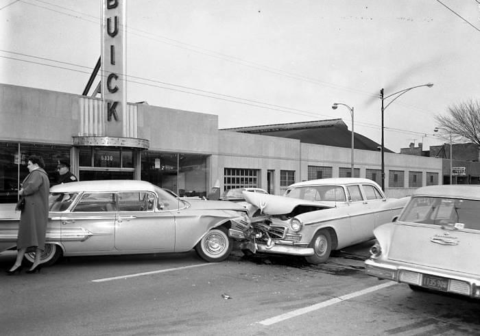 Car Vs Dealership Crash