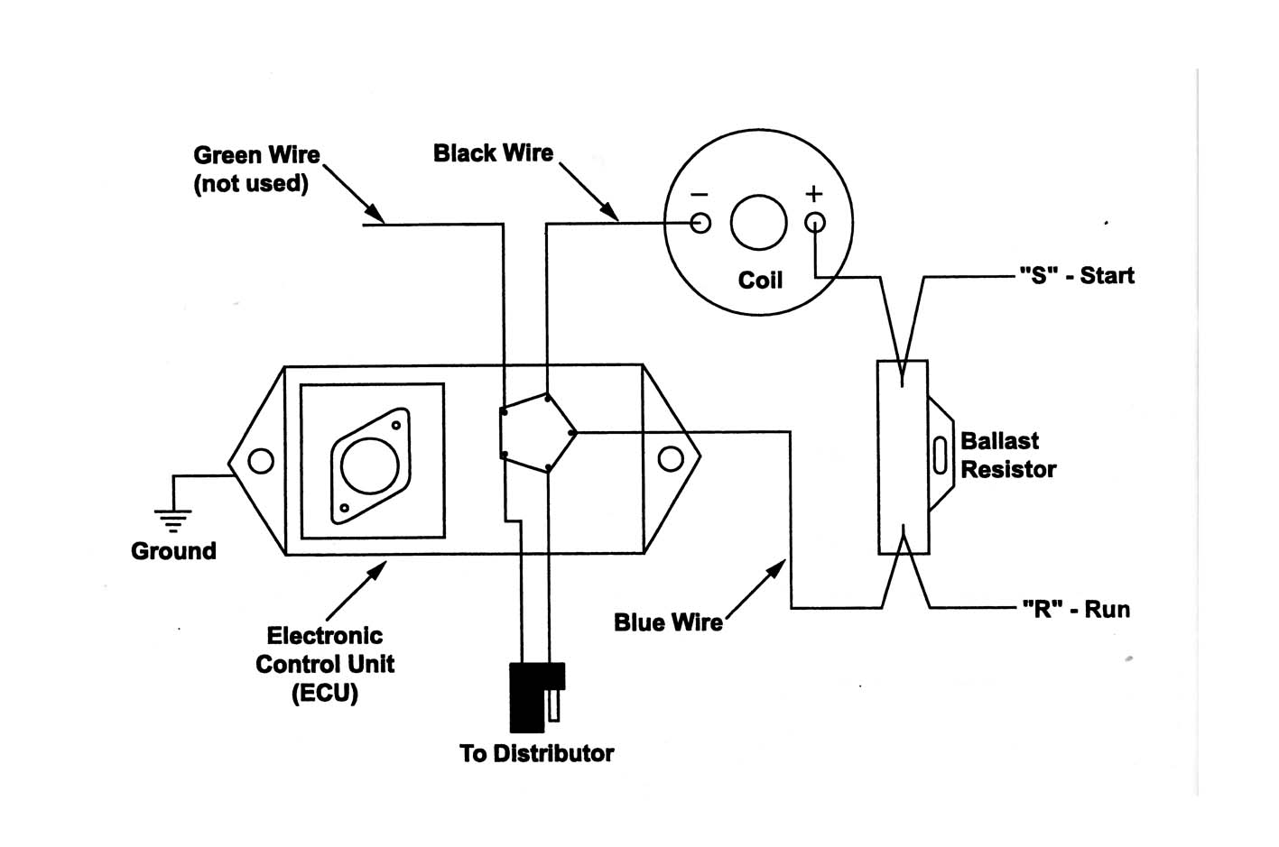 Wire Schematic 1970 Electronic Ignition Mopar on 4 Wire Gm Alternator Wiring Diagram